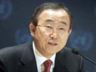 Ban Ki-Moon addresses UN