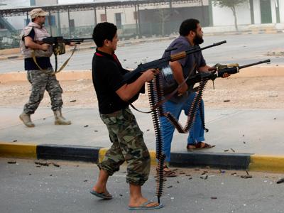 Protesters storm Libyan parliament