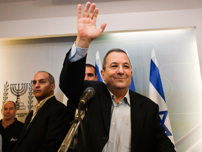 Ehud Barak to step down as Israeli Defense Minister, retire from politics