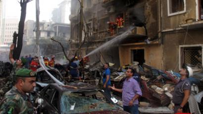 At least 13 killed, dozens injured in Damascus car bombing amid UN peace envoy visit (VIDEO, PHOTOS)
