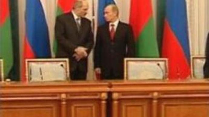 Belarus and Russia to resume talks on the unification