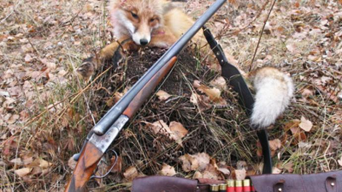Outfoxed in Belarus - hunter shot by quarry