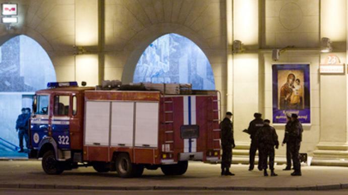 Belarus searching for suspects in Minsk Metro blast