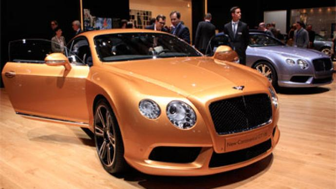 Bentley sued for $2mn over failed airbags