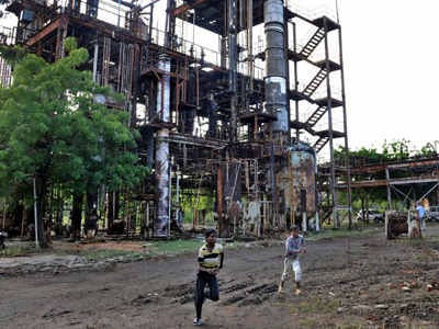 Bhopal toxic waste to be shunted to Germany