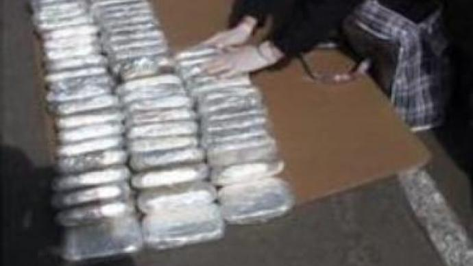 Big consignment of drugs confiscated in Ukraine