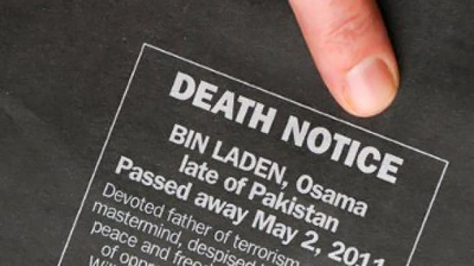 Story of Bin Laden's death looks like staged fairytale – military analyst