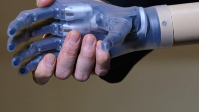 Touching breakthrough: Bionic hand to return sense of feeling