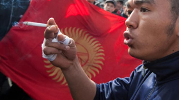 Bishkek Diary: Face to face with Kyrgyz rioters