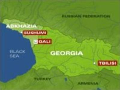 Blast in Abkhazia