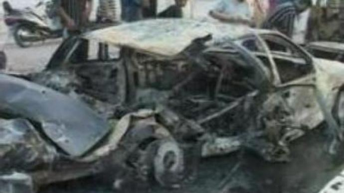 Blast in Iraq kills three