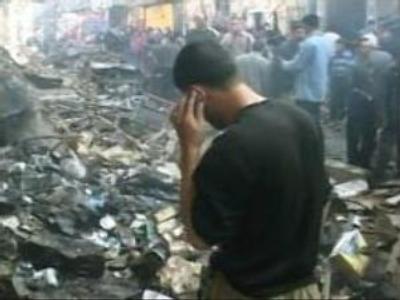 Blasts in Iraq kill 9 U.S. soldiers