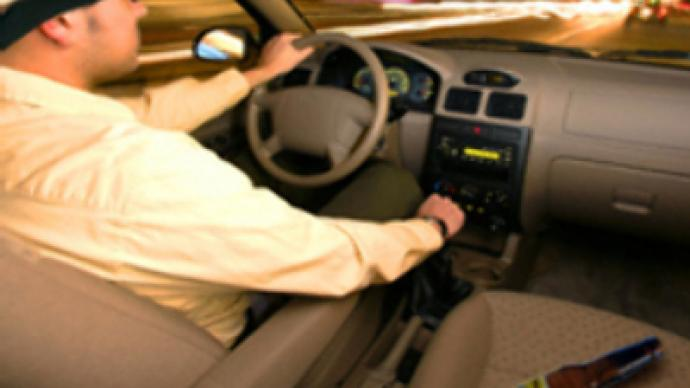 Blind, drunk and behind the wheel…again