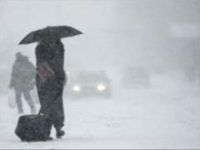 Blizzard hits Russian Far East