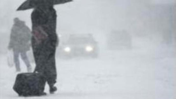 Blizzard hits Russian Far East