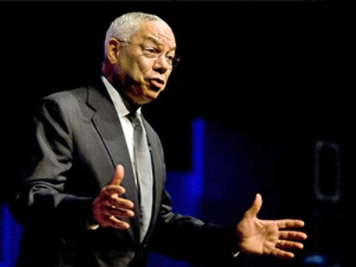 Colin Powell lashes out at Bush's foreign policy