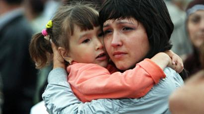 Russian city livid after toddler lost in urban sinkhole