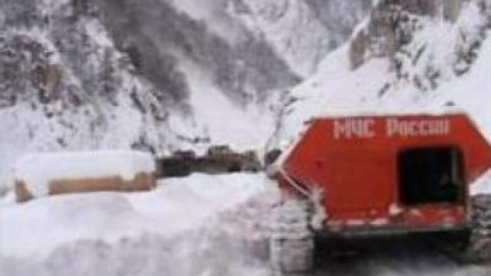 Body found in Russia's Caucasus region, search continues for missing climbers