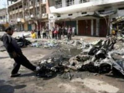 Bomb blasts kill 15 in Iraq