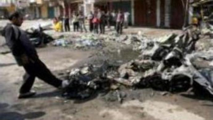 Bomb blasts kill 15 in Iraq