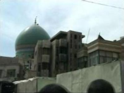 Bomb explodes in Baghdad mosque