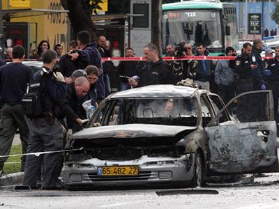 Tel Aviv car explodes in attempt to assassinate crime boss, 7 injured