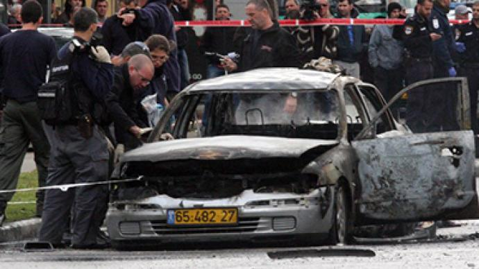 Tel Aviv car explodes in attempt to assassinate crime boss, 7 injured