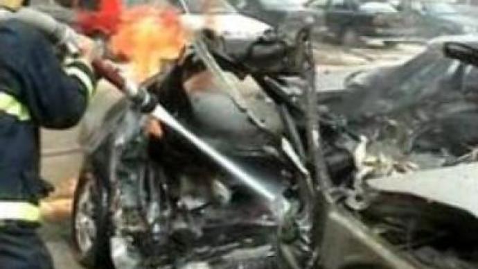 Bombers target Iran's embassy in Baghdad