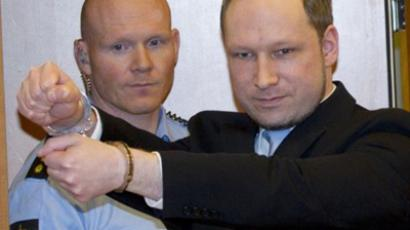 Breivik cries in court, claims murder of 77 'self-defense' (VIDEO, PHOTOS)