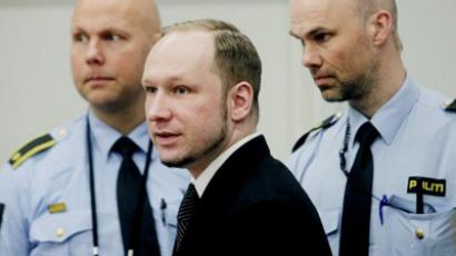 Man sets himself on fire outside Breivik court building (VIDEO)