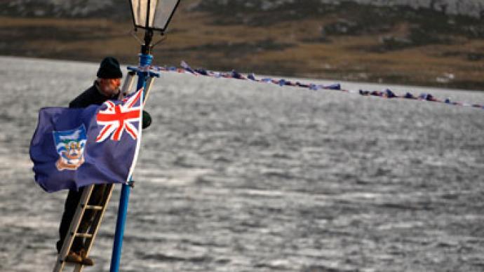 Britain preparing for new Falklands War?