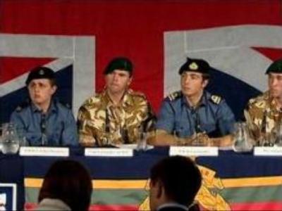 British navy crew detail Iranian treatment