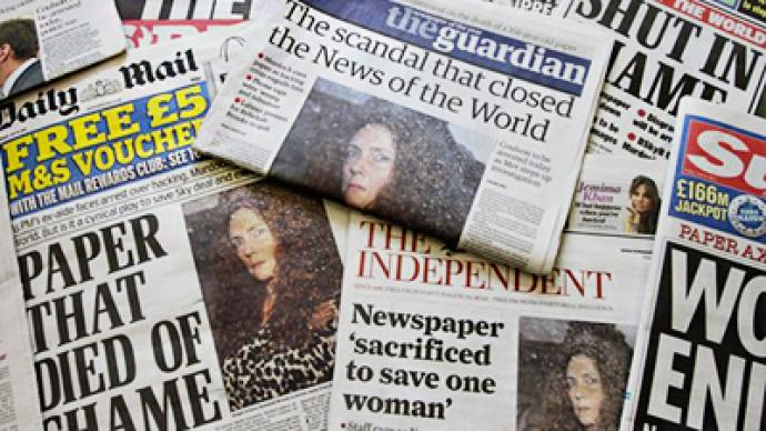Ethics of British press to be probed after phone hacking scandal