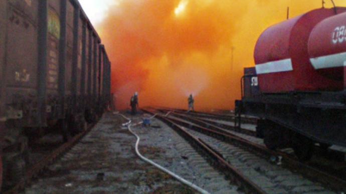 Toxic cloud poisons pupils' fest — RT World News