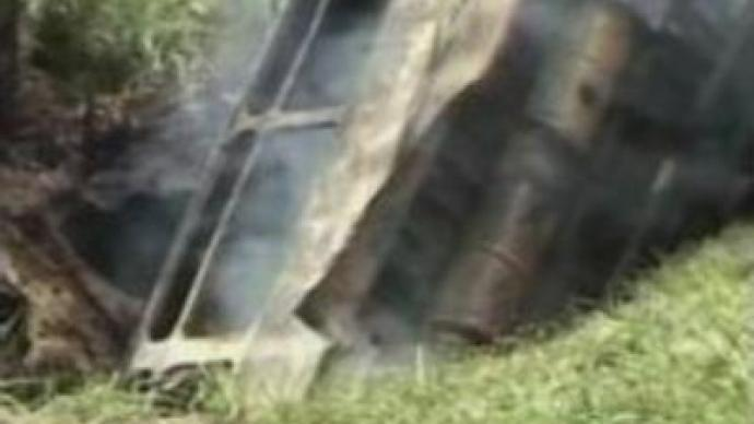 Bus crash claims 27 in Colombia
