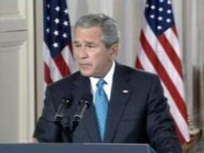 Bush admitted the CIA has been detaining terror suspects outside the US