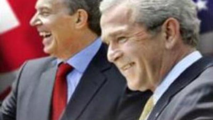 Bush & Blair: no regrets on Iraq war