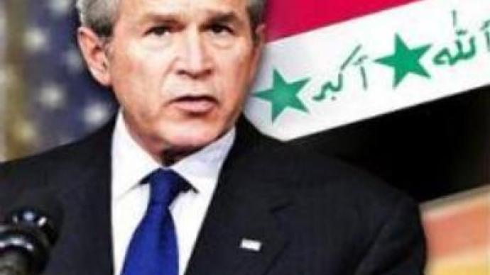 Bush counters criticism of Iraq war