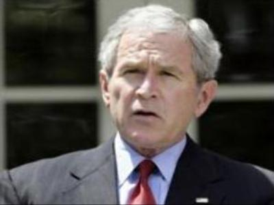 Bush critical of Russia's direction