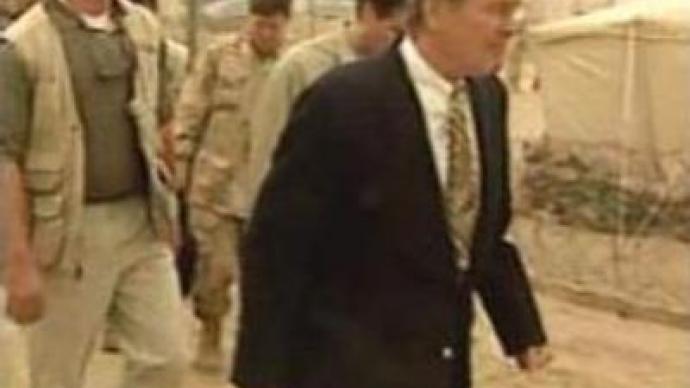 Bush sacks Rumsfeld as the Democrats gain control of the Congress