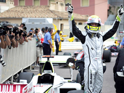 Button to top the grid in Monaco