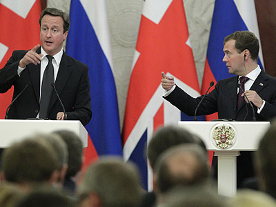 'Russia-UK: Areas of profound disagreement'
