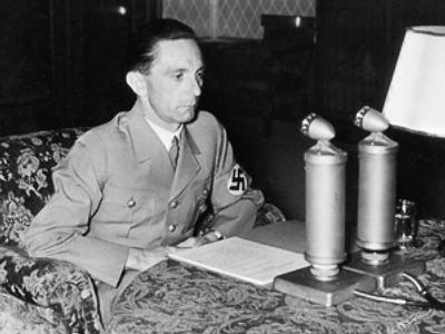 Can I speak to Doctor Goebbels please?