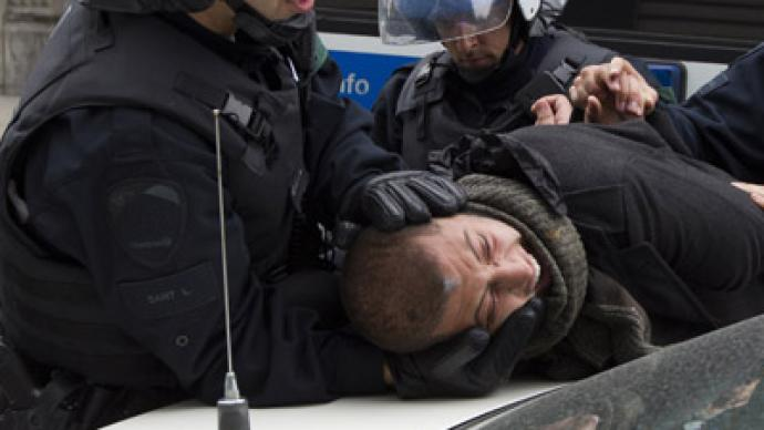 Fifty arrested on second day of protests in Canada