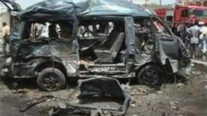 Car blast kills 30 in Baghdad
