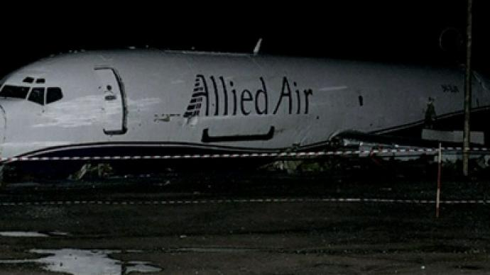 Cargo plane crashes in Ghana capital, hits bus