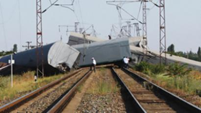 Chinese bullet train derails in lightning incident