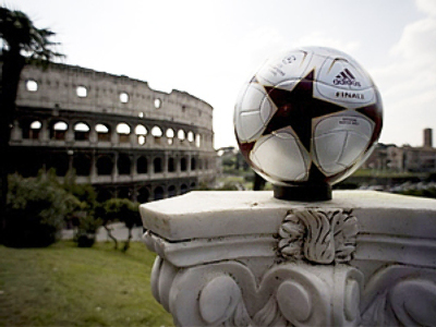 Champions League final 2009 matchball unveiled