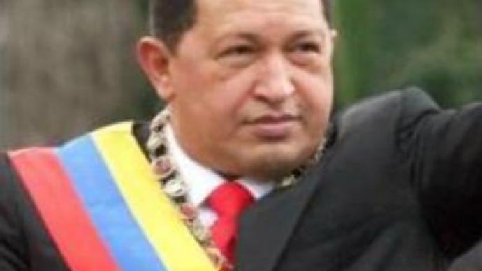 Chavez threatens opposition