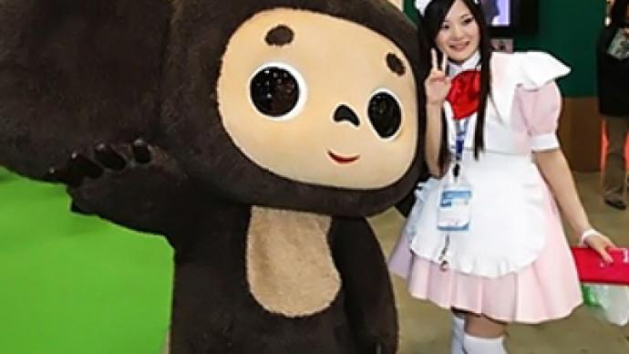 Russian kids' favorite a hit at Tokyo fair
